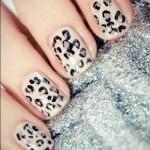 леопардовые ногти 2013