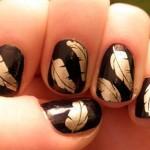 цвток маникюр для коротких ногтей