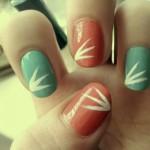 дизайн на короткие ногти весна 2013