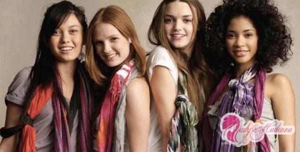 как красиво и правильно повязать шарф