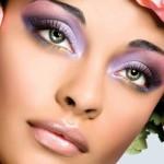 как делать макияж брюнетки с зелеными глазами
