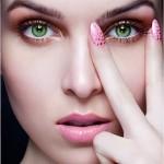 фото как делать макияж для зеленых глаз