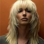 Красивая стрижка каскад на длинные волосы фото