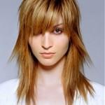 стрижка каскад на длинных волосах