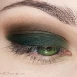 поэтапный макияж зеленых глаз: шаг 4