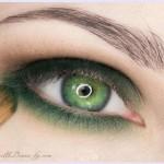 поэтапный макияж зеленых глаз: шаг 5