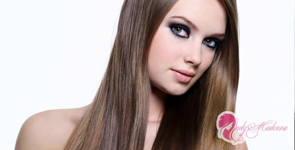 красивые и длинные волосы
