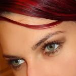 как правильно красить зеленые глаза