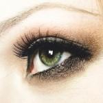 макияж зеленых глаз для рыжих волос 2013