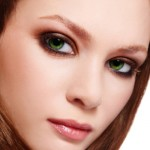 пошаговый макияж зеленых глаз для рыжих волос