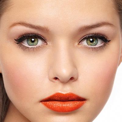 Какой цвет помады подходит к зеленым глазам