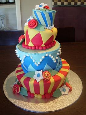 красивый торт с мастикой