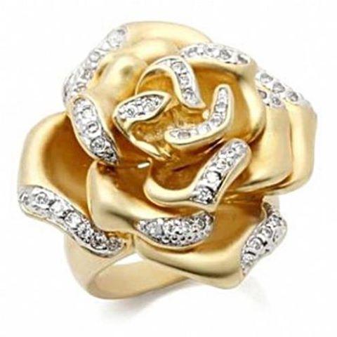 кользо из матового золото