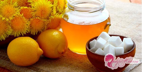 Мед и варенье из одуванчиков