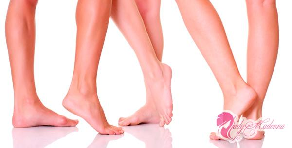 красивые ноги без сосудистых звездочек