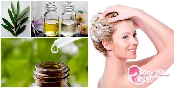 масло чайного дерева для влос