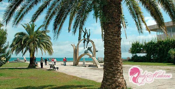 Пицунда - отличное место для отдыха с детьми на море