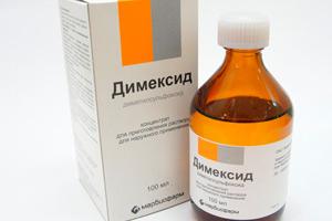 димексид от выпадения волос