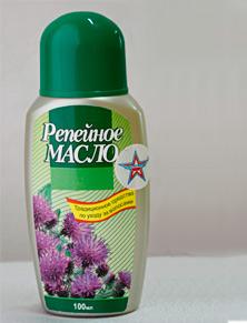 восстановление волос репейным маслом