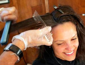 как проходит кератирование волос