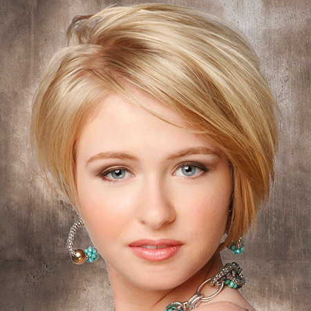 Прическа на короткие и редкие волосы