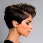 стрижки на короткие волосы ассиметричные
