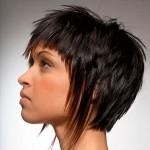 стрижка на короткие волнистые волосы