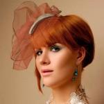 прически на короткие волосы на свадьбу 2013