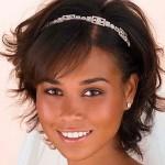 свадебная стрижка на короткие волосы