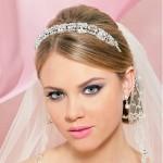 фото прически невесты с короткими волосами