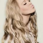 модные челки на длинные волосы