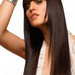 химия на длинные волосы фото
