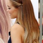 простая укладка на длинные волосы