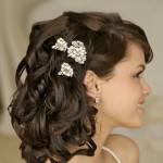 свадебные прически на длинные волосы с косой