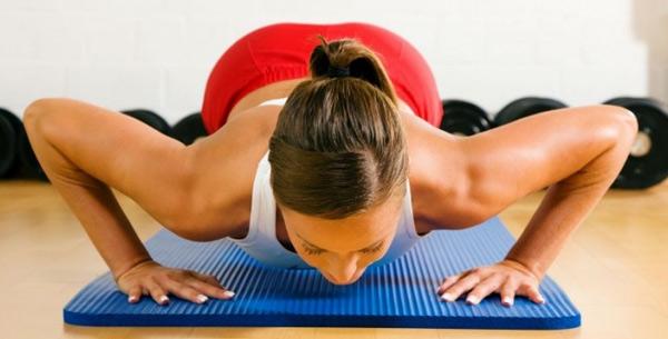упражнения для увеличения груди в домашних условиях