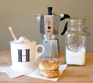 вкусный капучино приготовить не сложно и без кофемашины