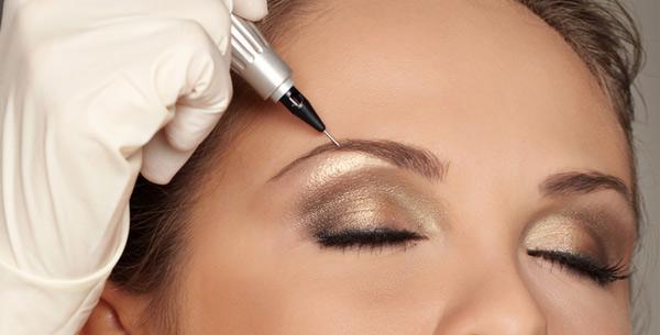 как проходит перманентный макияж