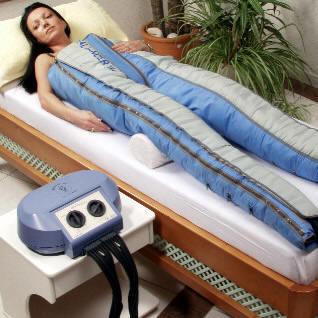 аппарат для прессотерапии дорогой, но если есть возможность можно проовдить в домашних условиях