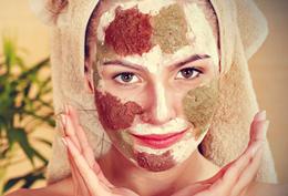 маска для лица с глиной