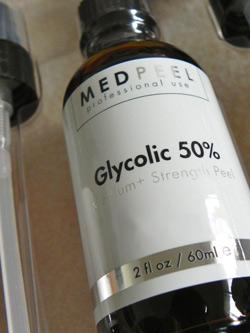 раствор гликолевой кислоты для пилинга