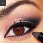 как сделать дымчатый макияж глаз