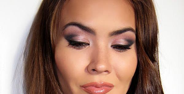 урок дымчатого макияжа