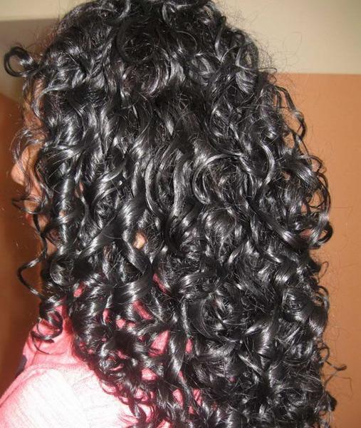 Долговременная укладка на длинные волосы крупные локоны фото
