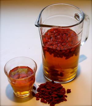 как приготовить ягоды годжи