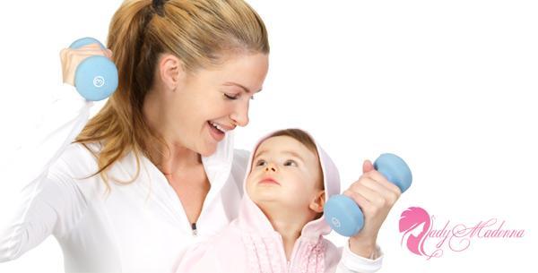 как похудеть после родов в домашних условиях