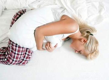 длительный стресс можест способствовать вздутию живота