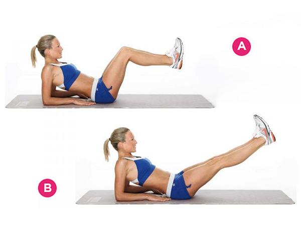 упражнения помогающие убрать живот после родов