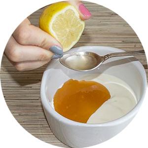 обеливающая маска с лимоном
