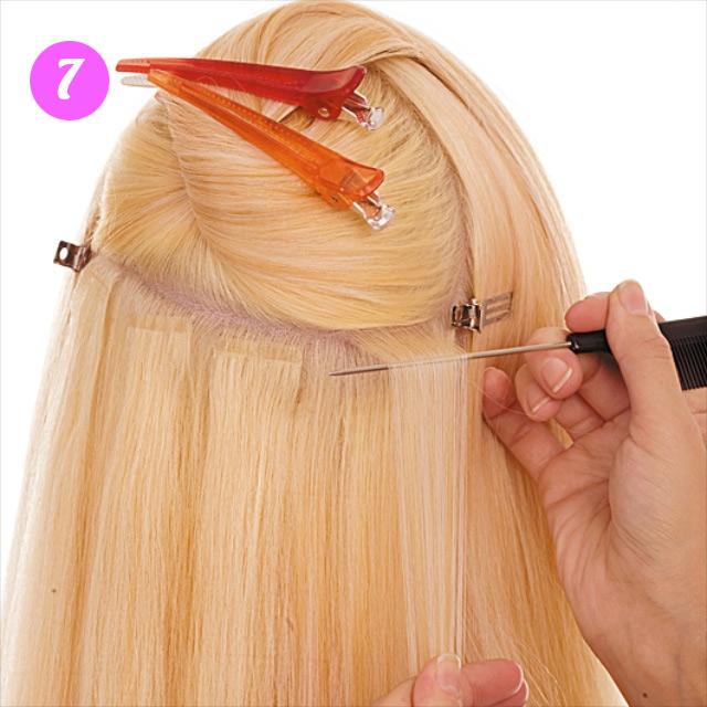 Ютуб мастер класс по снятие наращивание волос с фото #1