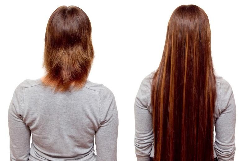 наращивание волос капсульное недорого